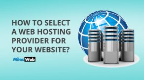 How to select a web hosting provider for your website