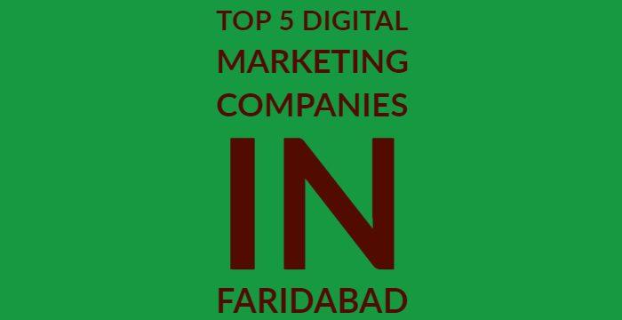 Top 5 digital marketing company in Faridabad 1